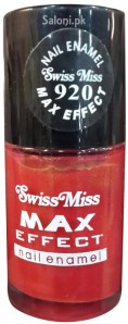 Saloni Product Review – Swiss Miss Max Effect Nail Enamel no 920
