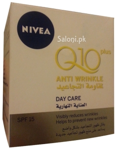 Saloni Product Review – Nivea Visage Q10 Plus Anti Wrinkle Day Care 15 SPF
