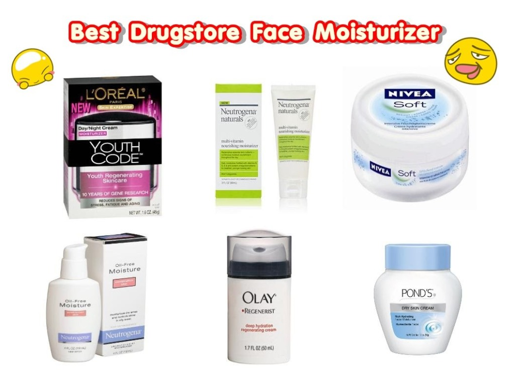 Best Natural Face Moisturizer Drugstore
