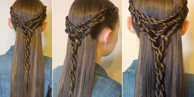 how-to-make-tangled-twists-tie-back-hairstyle-see-tutorial-2