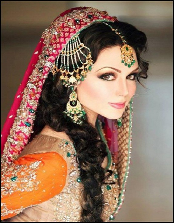 latest-indian-wedding-bridal-new-fashionable-stylish-hair-cuts-hairstyles-7