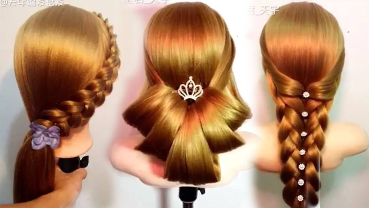 Hair Styler H Twom: 10 Amazing Hairstyles Tutorials Life Hacks For Girls