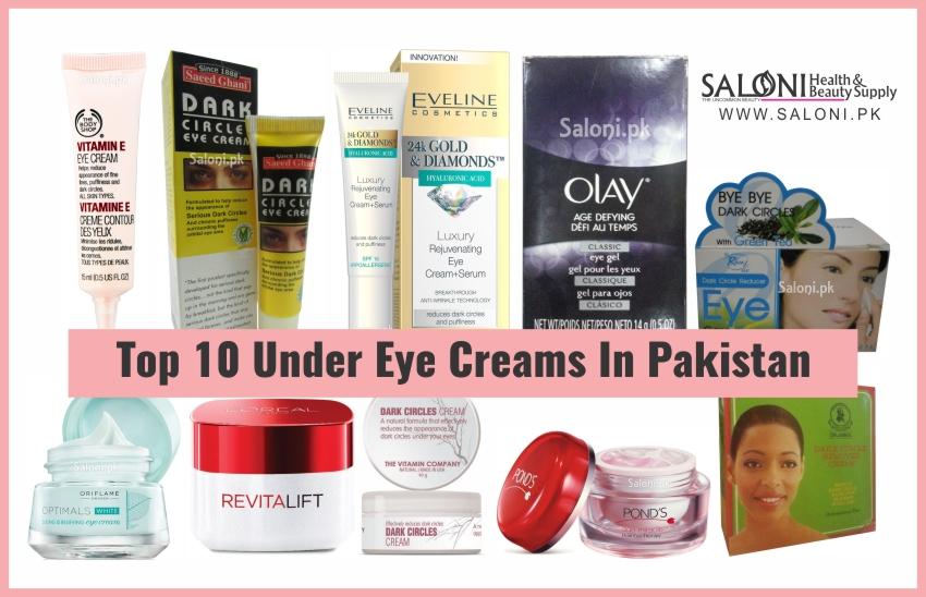 Under eye whitening cream