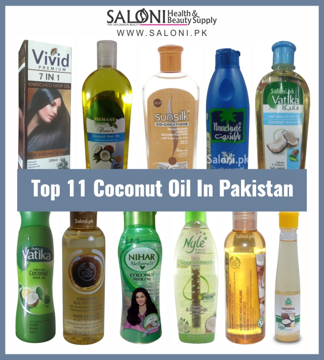 Top 11 Coconut Oil In Pakistan – Saloni Health & Beauty