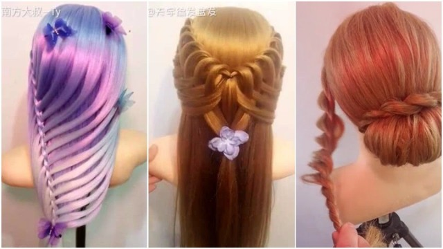 the most beautiful hairstyles tutorials february 2017