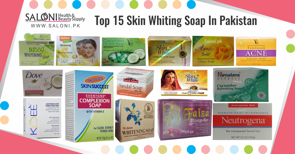 Top 15 Skin Whiting Soap In Pakistan