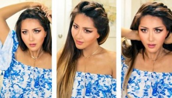 10 Quick & Heatless EveryDay Hairstyles | Long Hair | Glossips ...