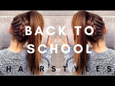 Easy 2017 Back To School Hairstyle Ideas Saloni Health Beauty